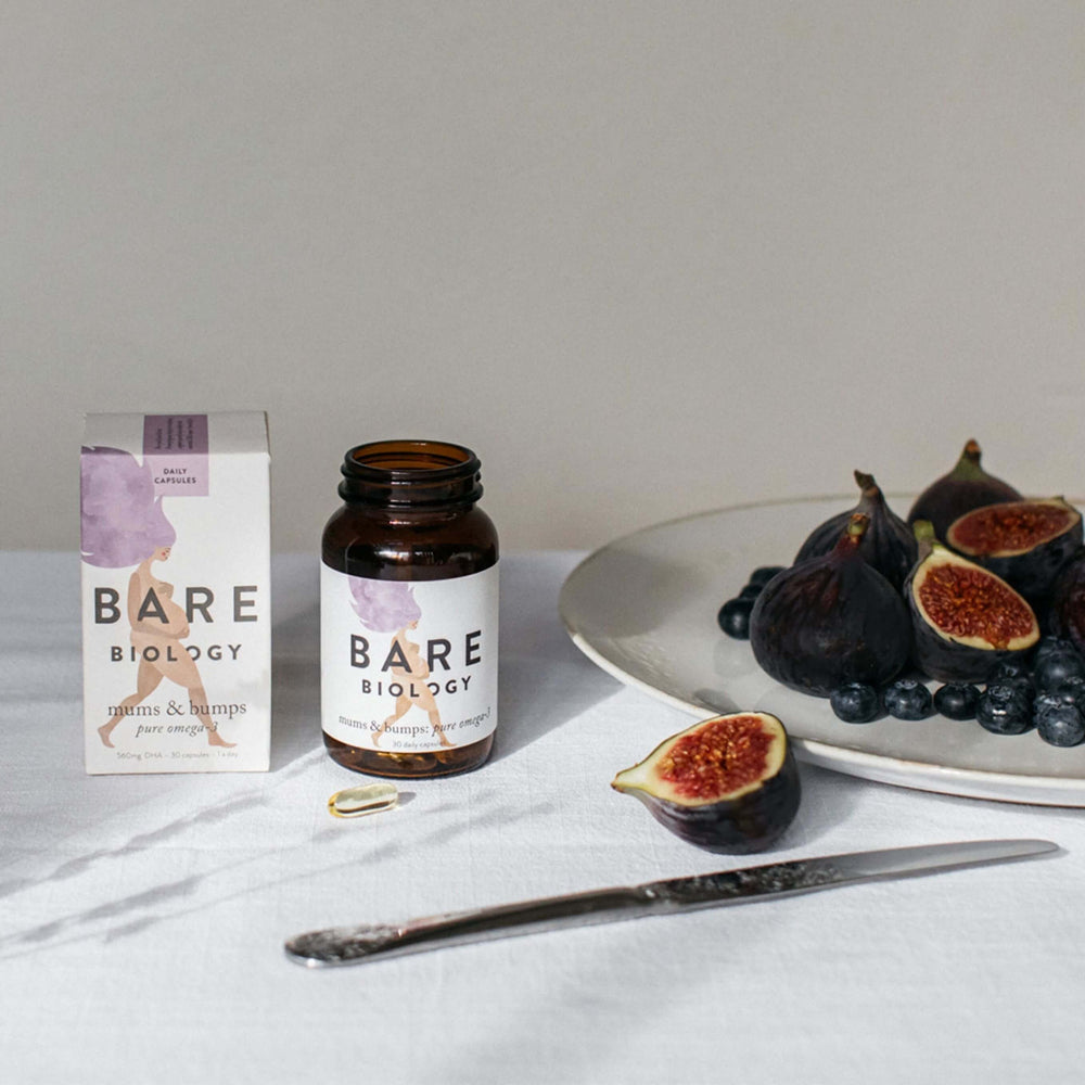 Bare Biology Mums and Bumps Capsules Capsules Bare Biology