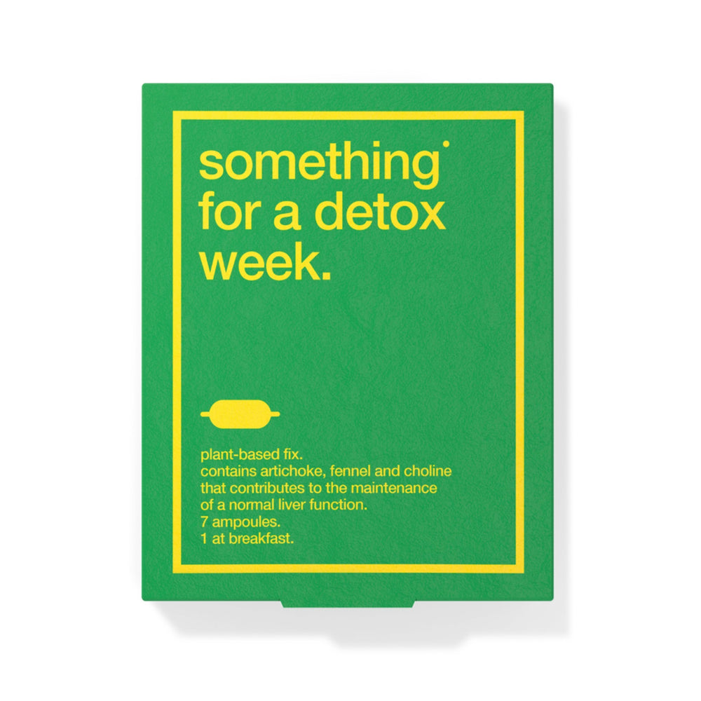 Biocol Labs Something for a Detox Week Ampoules Online UK TheDrug.Store