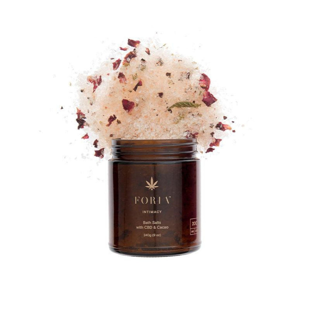 Foria Intimacy Bath Salts Topicals Foria