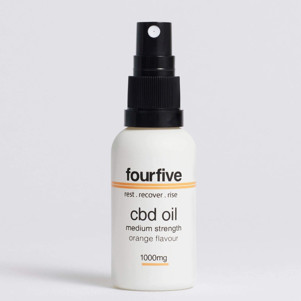 FourFive CBD Oil Orange Flavour (500mg-2000mg) Oil FourFive 1000mg