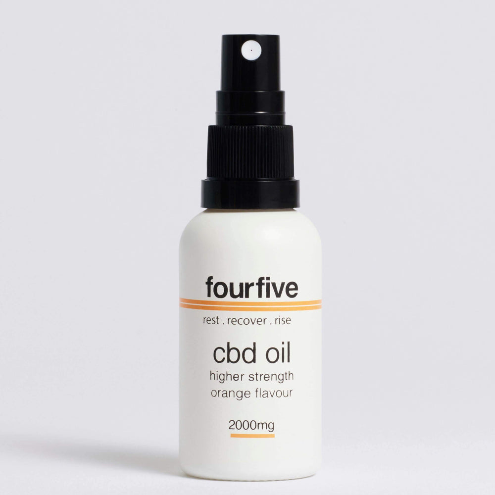 FourFive CBD Oil Orange Flavour (500mg-2000mg) Oil FourFive 2000mg