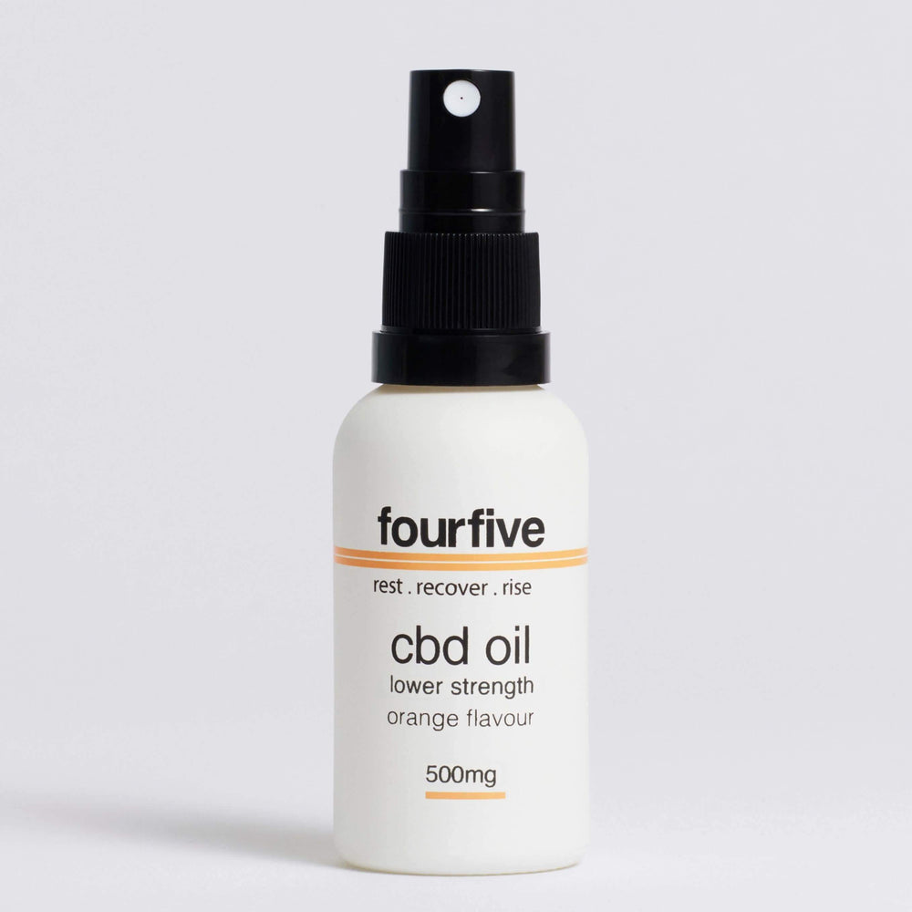 FourFive CBD Oil Orange Flavour (500mg-2000mg) Oil FourFive 500mg