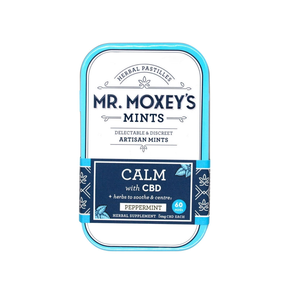 Mr.Moxey's Calm CBD Mints Capsules MrMoxey