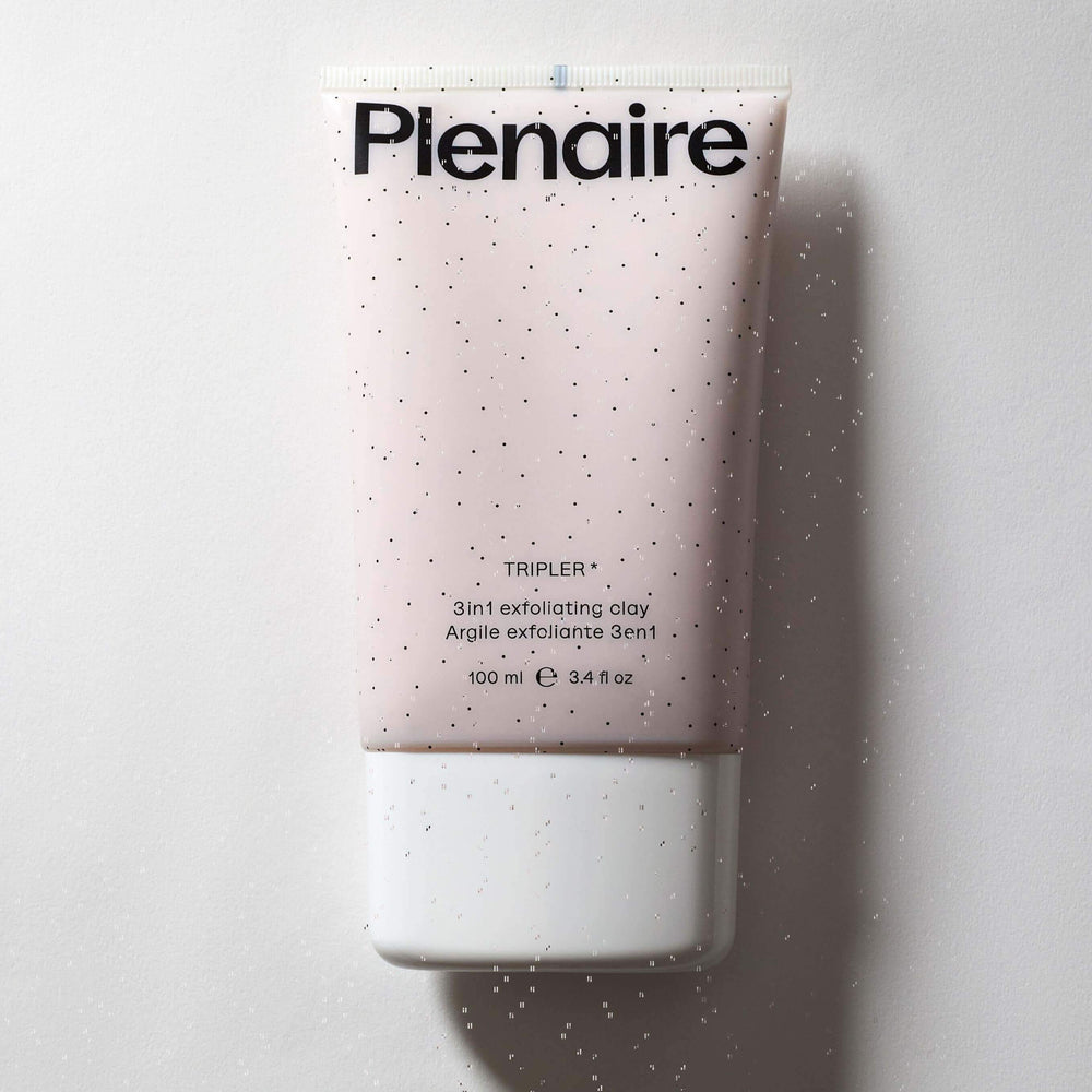 Plenaire Tripler Exfoliating Clay Topicals Plenaire 100ml
