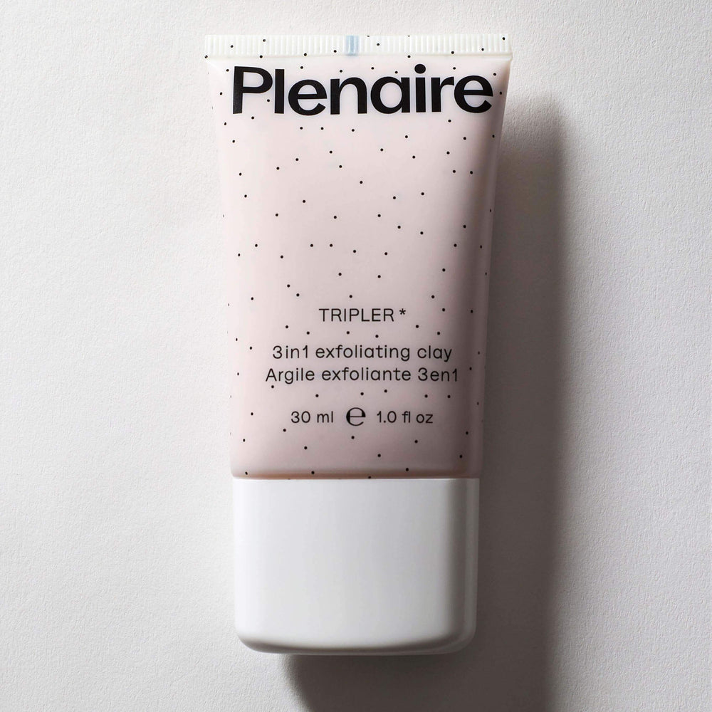 Plenaire Tripler Exfoliating Clay Topicals Plenaire 30ml