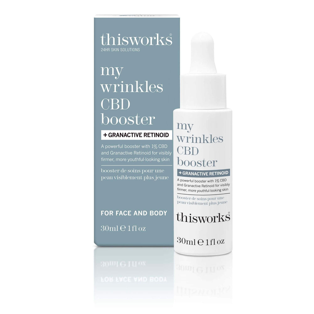 ThisWorks CBD Booster + Granactive Retinoid Topicals ThisWorks