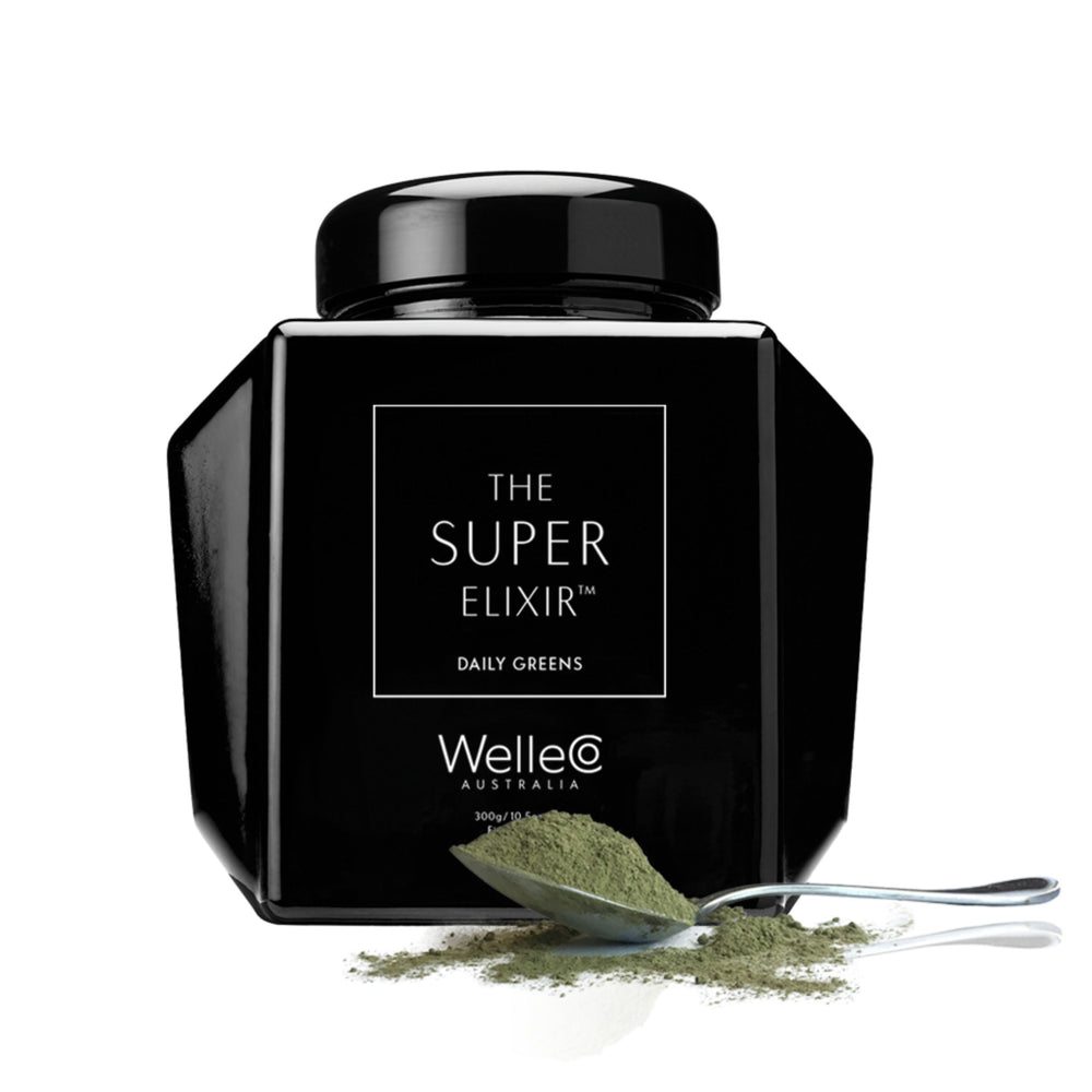 WelleCo Super Elixir Greens Original (300g) Powder WelleCo
