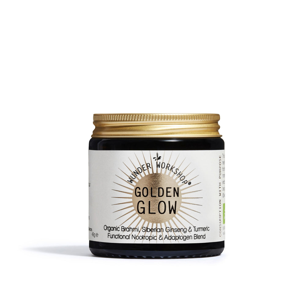 Wunder Workshop Golden Glow (40g) Adaptogens and Turmeric UK Thedrug.store