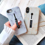 3 in 1 Kickstand + Finger Loop iPhone Case