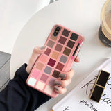 Barbie Eye Shadow Palette iPhone Case