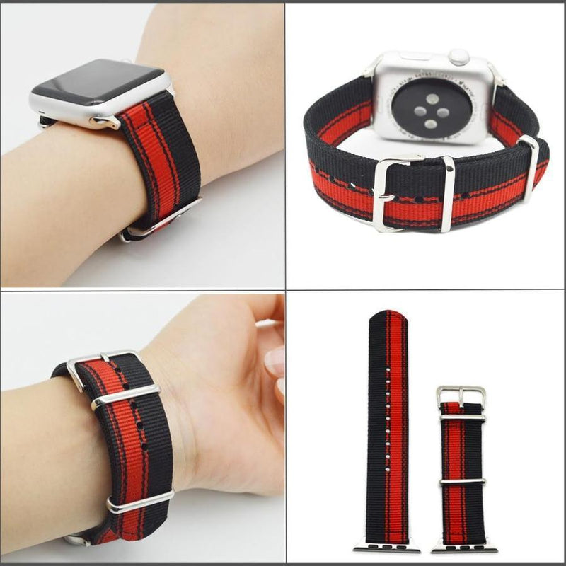 Lightweight Nylon Canvas Apple Watch Band | Spring Collections