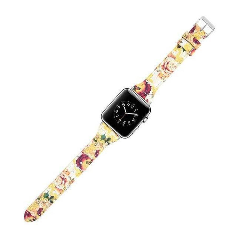Skinny Strap Apple Watch Genuine Leather Band