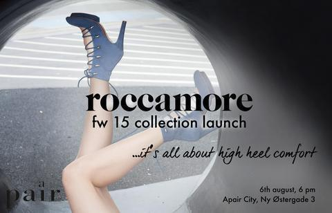 roccamore, comfortable high heels, launching at Apair