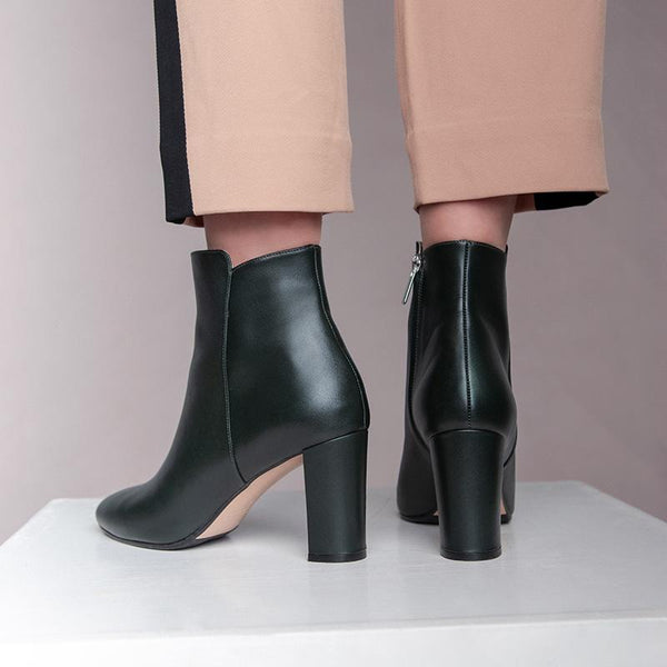 anne-dark-green-block-heel-leather-boot-roccamore-sd-