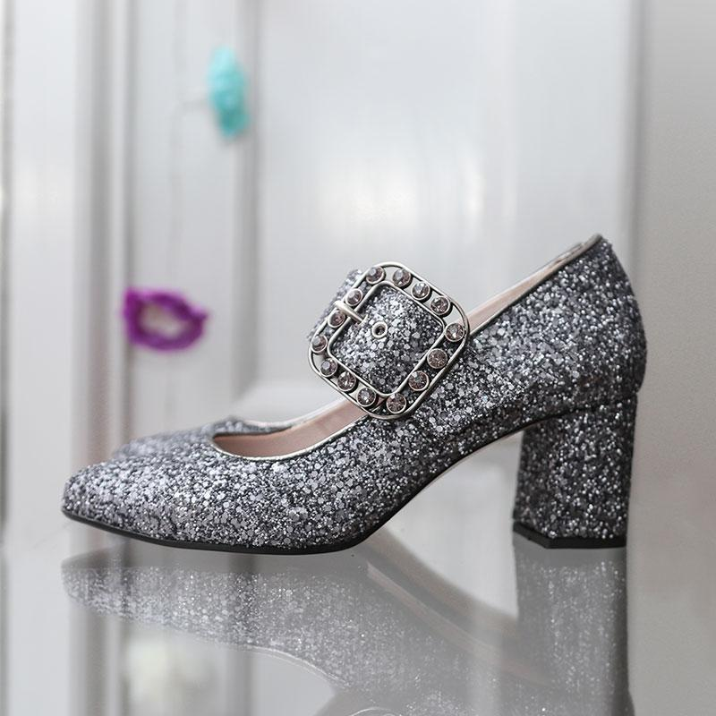 mystery-glitter-silver-buckle-block-heel-pump-roccamore