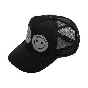 Sunshine Trucker Hat Black