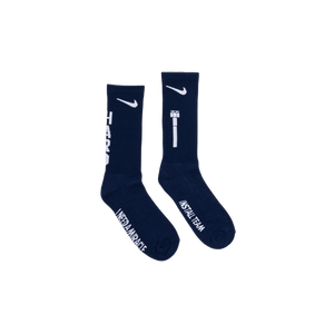 Hardware Socks Navy Blue