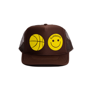 Sunshine Trucker Hat Brown