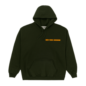 Caution Hoodie Green