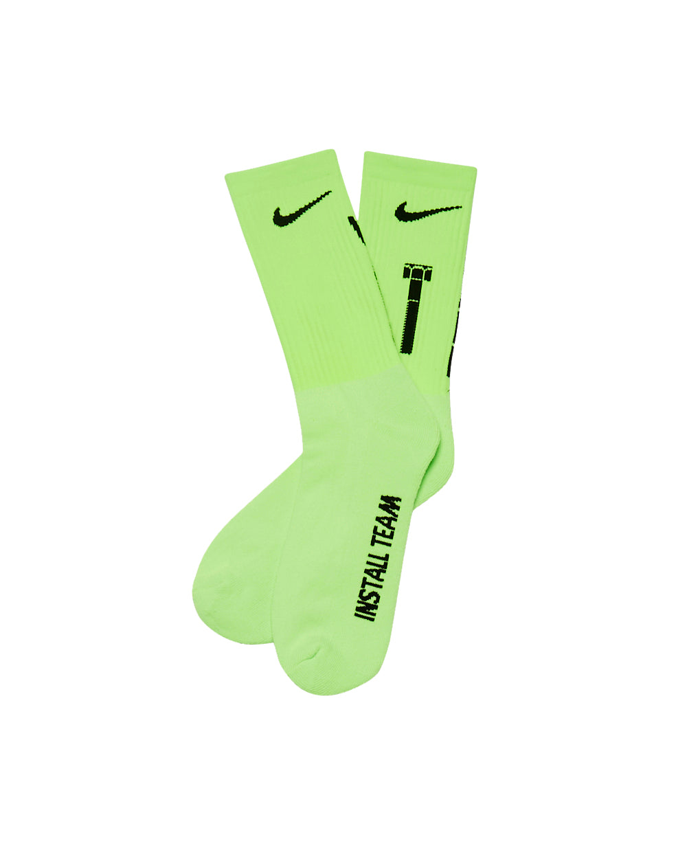 Hardware Socks Neon Green