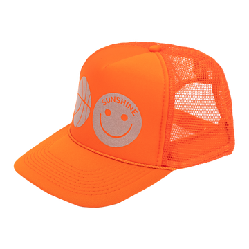 Sunshine Trucker Hat Orange
