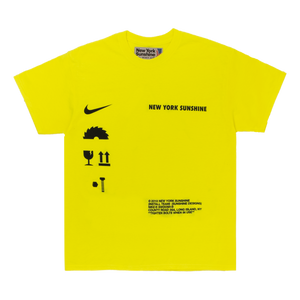 Caution T-Shirt Safety Neon