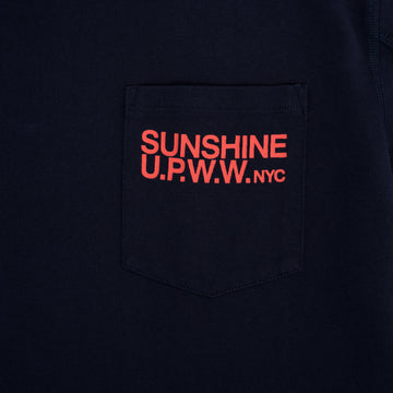 "NYS U.P.W.W. ""Department"" T-Shirt Navy"