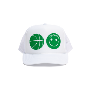 Sunshine Trucker Hat White