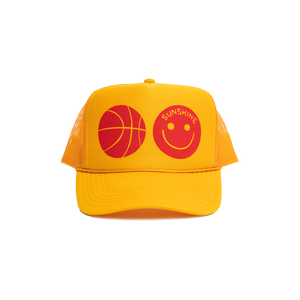 Sunshine Trucker Hat Yellow