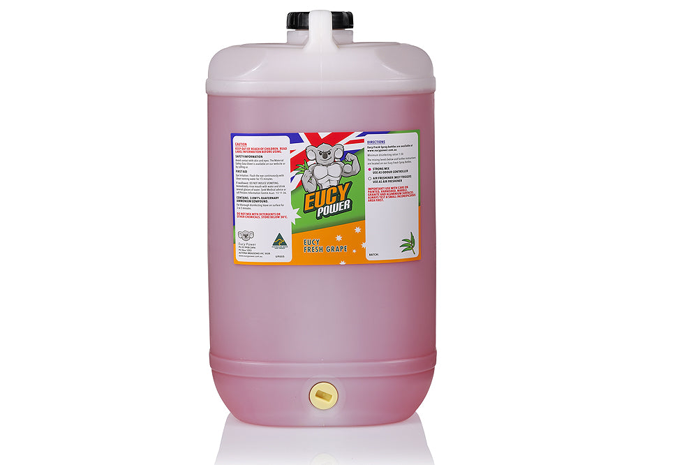 Hospital Grade Disinfectant and Deodoriser - Eucy Fresh Grape - 15 Litre