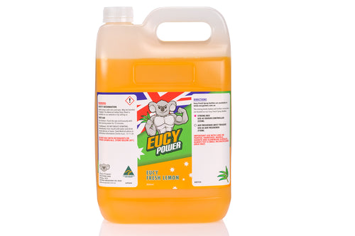 Hospital Grade Disinfectant and Deodoriser - Eucy Fresh Lemon - 5 Litre