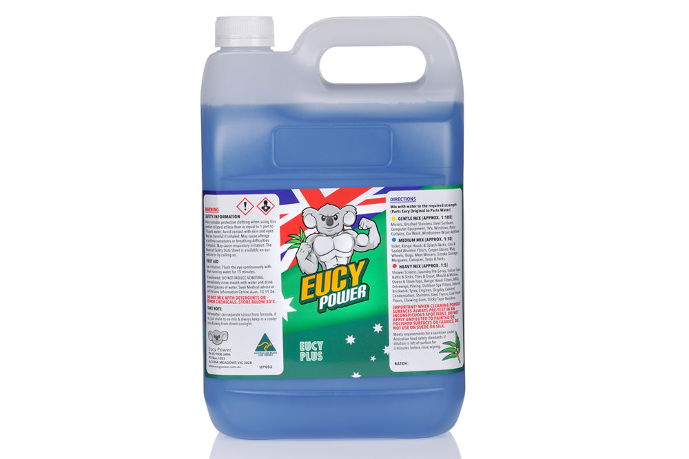 Sanitiser and All Purpose Cleaner - Single Eucy Plus - 5 Litre