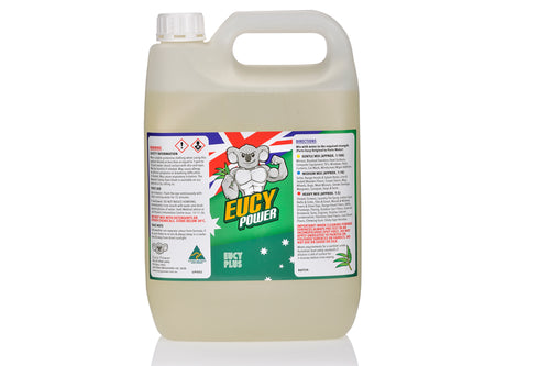 Council Approved Sanitiser All Purpose Cleaner - Single Eucy Plus - Natural - 5 Litre