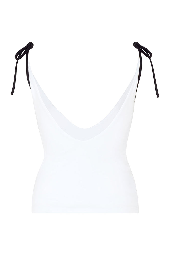 The 'Go Braless' Tank - White