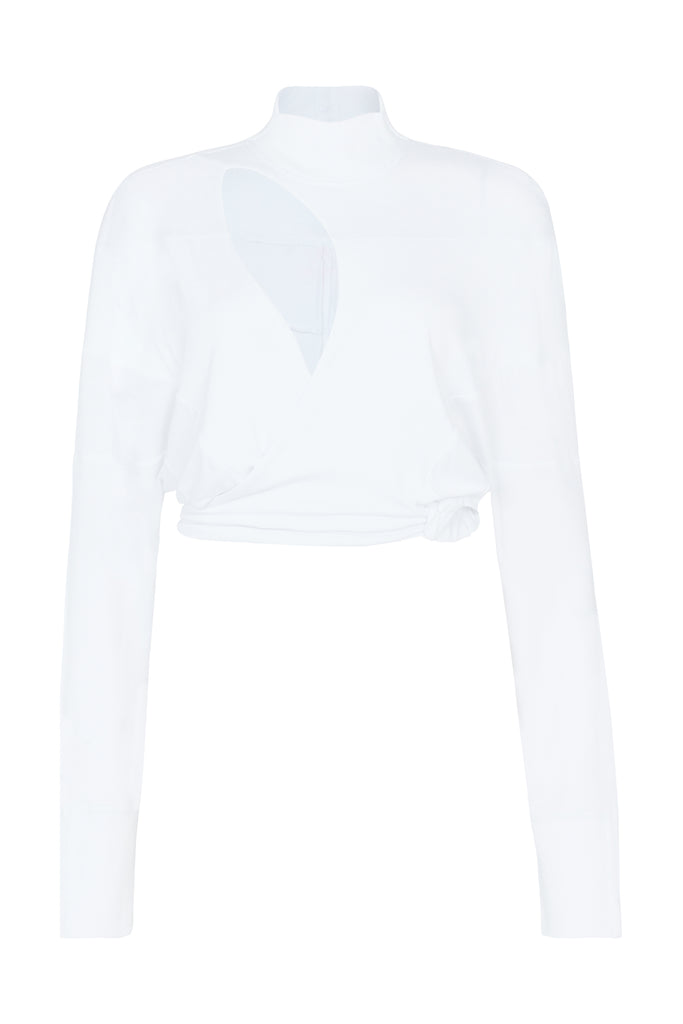 The 'De Jour De Nuit' Wrap - White