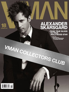 VMAN COLLECTOR'S PRESENTS: ALEXANDER SKARSGÅRD - VMAN18
