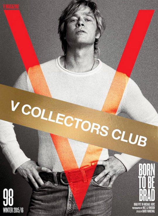 V COLLECTOR'S CLUB PRESENTS: BRAD PITT - V98