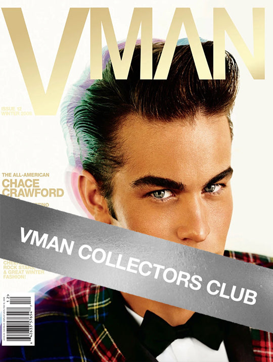 VMAN COLLECTOR'S CLUB PRESENTS: CHACE CRAWFORD - VMAN12