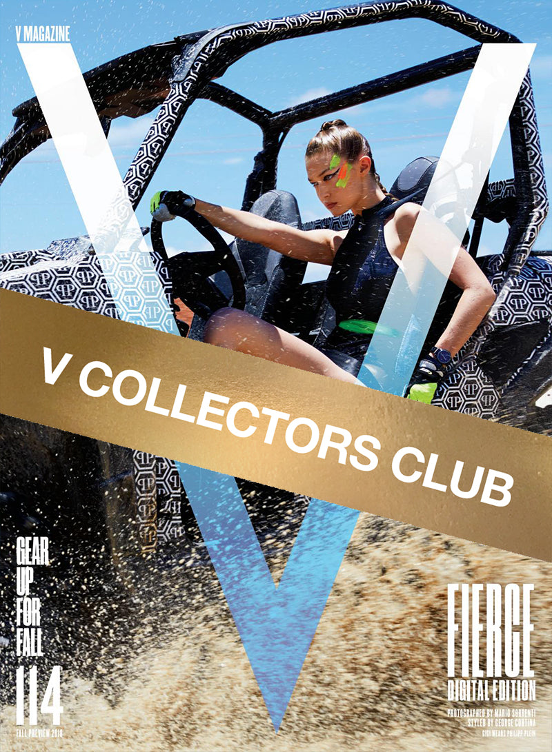 V COLLECTORS CLUB PRESENTS: FEARLESS GIGI - V114