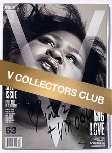 V COLLECTOR'S PRESENTS: GABOUREY SIDIBE - V63 (SIGNED BY INEZ & VINOODH)