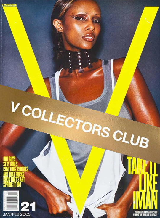 V COLLECTOR'S CLUB PRESENTS: IMAN - V21