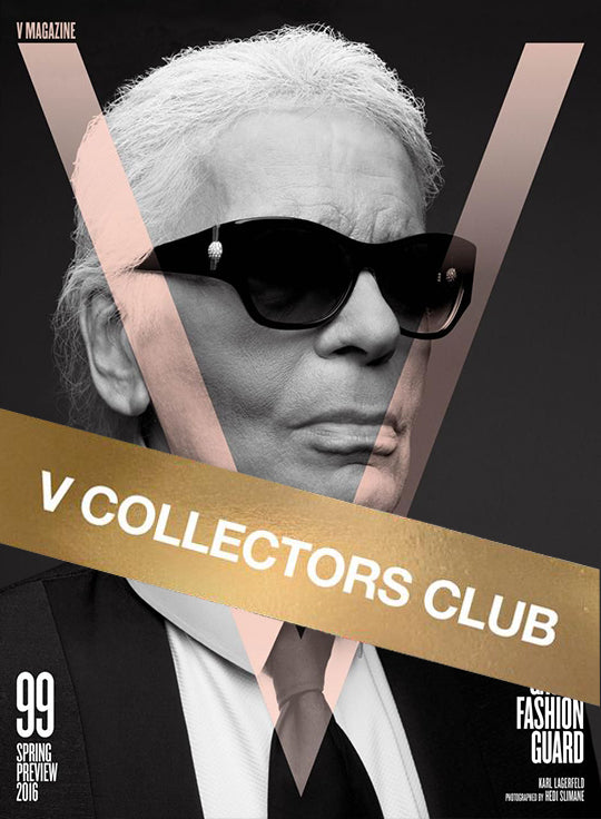 V MAGAZINE PRESENTS: KARL LAGERFELD - V99