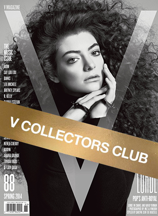 V COLLECTOR'S CLUB PRESENTS: LORDE - V88