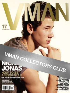 VMAN COLLECTOR'S CLUB PRESENTS: NICK JONAS - VMAN17