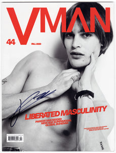 "VMAN 44 ""LIBERATED MASCULINITY"" PARKER VAN NOORD (LIMITED EDITION - SIGNED BY PARKER)"