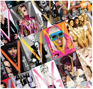 ONE YEAR V MAGAZINE SUBSCRIPTION! (U.K. & EUROPE ONLY)