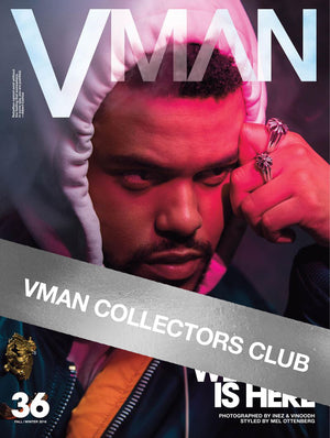 VMAN COLLECTORS CLUB PRESENTS: THE WEEKND - VMAN36