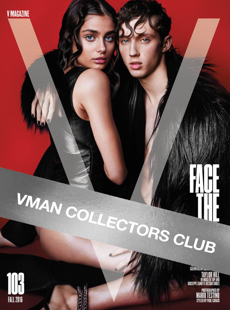 VMAN COLLECTORS CLUB PRESENTS: TROYE SIVAN - VMAN40 & V103
