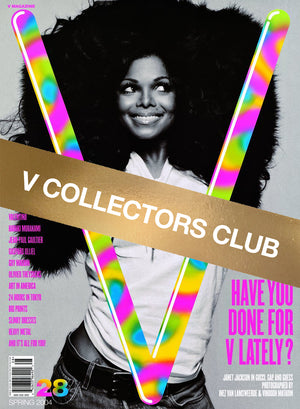 V COLLECTORS CLUB PRESENTS: JANET JACKSON - V28 & V45