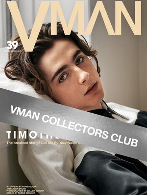 VMAN COLLECTORS CLUB PRESENTS: TIMOTHÉE CHALAMET